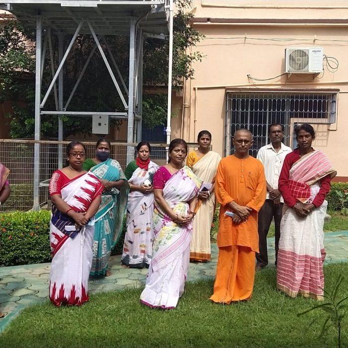 Brikhoropon Utsav at Sri Ramakrishna Sishu Vidyapith - Ramakrishna Math, Bolpur (8)